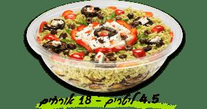 סלט-פסטה-חצילים-גבינ 4.5 ליטר